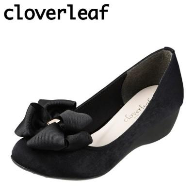 クローバーリーフ cloverleaf CL31084 レディース | パンプス | 小さいサイズ対応 大きいサイズ対応 | ブラック