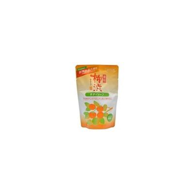 熊野油脂(株) 薬用 柿渋 ボディソープ 詰替用(350mL) ×24個【イージャパンモール】