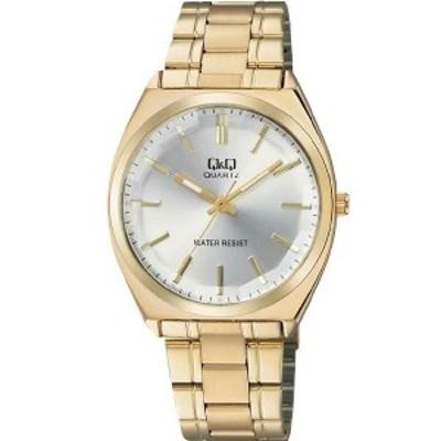 【メール便選択で送料無料】【正規品】Q&Q キュー&キュー 腕時計 CITIZEN シチズン QB78-001 メンズ カットガラス クオーツ