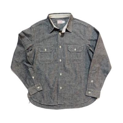 トロフィークロージング TROPHYCLOTHING 長袖シャツ シャンブレーシャツ・TR-SH02 HARVEST SHIRTS