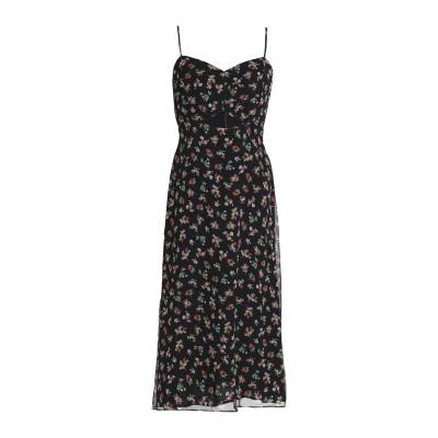 BAILEY 44 7分丈ワンピース・ドレス ブラック 10 ポリエステル 100% 7分丈ワンピース・ドレス