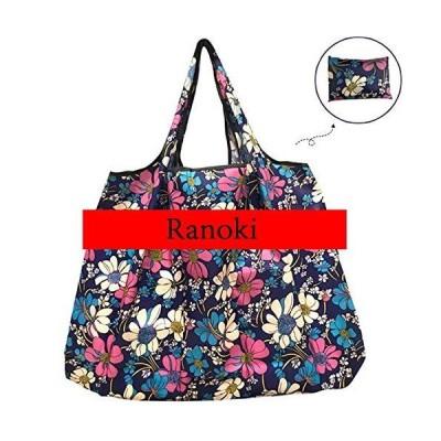 Ranoki エコバッグ 折りたたみ 買い物袋 防水素材 大容量 (HBD-056)
