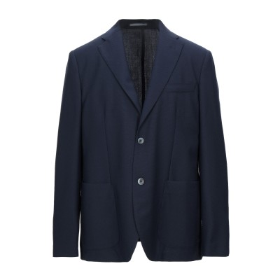 SEVENTY SERGIO TEGON テーラードジャケット ダークブルー 54 バージンウール 100% テーラードジャケット