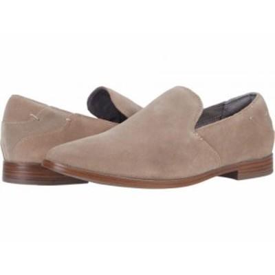 Rockport ロックポート レディース 女性用 シューズ 靴 ローファー ボートシューズ Perpetua Plain New Khaki Suede【送料無料】