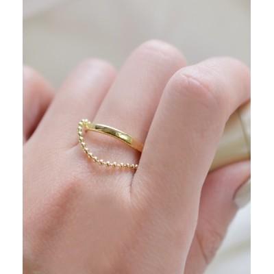 指輪 F&D : レイヤーチェーンリング