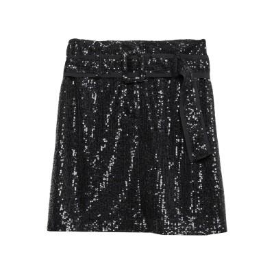 カオス KAOS ひざ丈スカート ブラック 40 ポリエステル 100% ひざ丈スカート