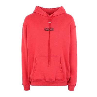 REPRESENT スウェットシャツ レッド XS コットン 100% スウェットシャツ