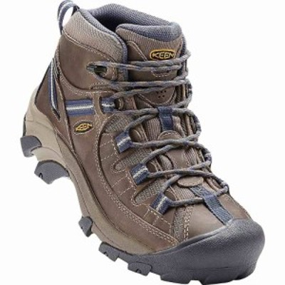 キーン Keen レディース ハイキング・登山 シューズ・靴 targhee ii mid waterproof shoe Goat/Crown Blue