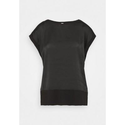 ソヤコンセプト Tシャツ レディース トップス THILDE - Blouse - black