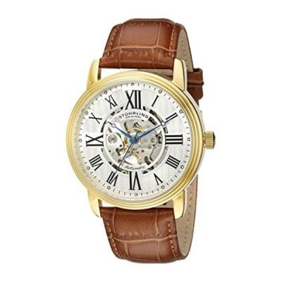 ストゥーリング オリジナル Stuhrling Original メンズ 腕時計 時計 Stuhrling Original Men's 1077.3335K2 Classic Delphi Venezia Stainless Steel Wa
