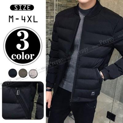 ダウンジャケット メンズ 軽量 冬物 保温 アウター 通勤 ビジネス アウトドア ブルゾン カジュアル 大きいサイズ