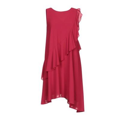 カオス KAOS ミニワンピース&ドレス ガーネット 40 ポリエステル 100% ミニワンピース&ドレス
