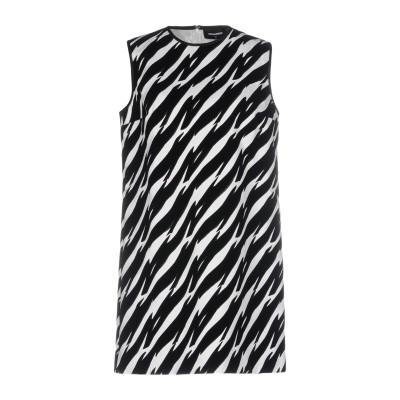 ディースクエアード DSQUARED2 ミニワンピース&ドレス ブラック 42 コットン 97% / ポリウレタン 3% ミニワンピース&ドレス