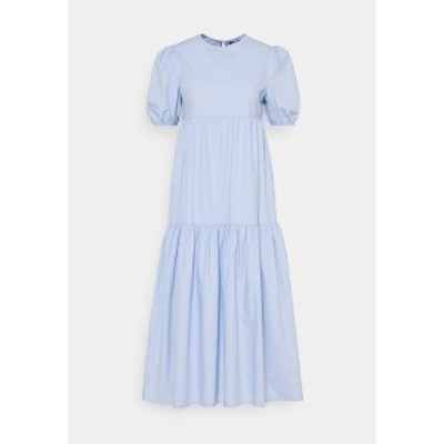 ミスガイデッド レディース ワンピース トップス MIDAXI SMOCK DRESS - Day dress - baby blue baby blue
