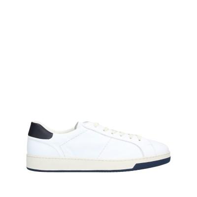 デュカルス DOUCAL'S スニーカー&テニスシューズ(ローカット) ホワイト 45 革 スニーカー&テニスシューズ(ローカット)