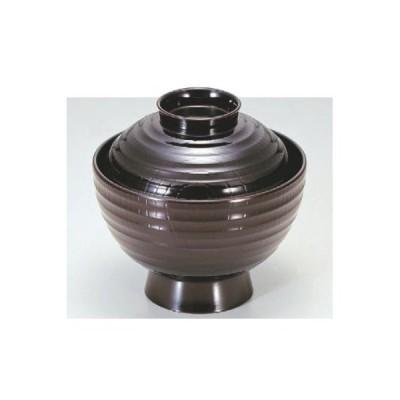 小吸椀 3.5寸平筋吸椀溜 漆器 高さ72 直径:105/業務用/新品