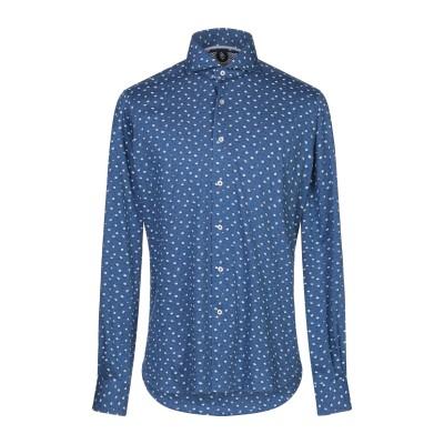 ORIAN シャツ ブルー 39 コットン 100% シャツ