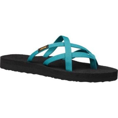 テバ Teva レディース サンダル・ミュール シューズ・靴 Olowahu Sandal Deep Lake Textile