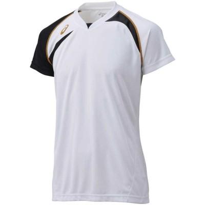 ASICS(アシックス) XW1318 バレーボール ゲームシャツHS