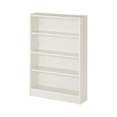 ぼん家具 本棚 書棚 4段 ラック カラーボックス マンガ 収納 棚 幅60cm ホワイト