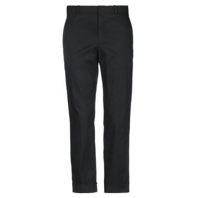 マウロ グリフォーニ MAURO GRIFONI パンツ ブラック 46 コットン 97% / ポリウレタン 3% パンツ