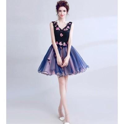 キャバドレス 大人気 手創りドレス 誕生日会 パーティードレス 超可愛い 成人式 二次会 姫系 お呼ばれドレス