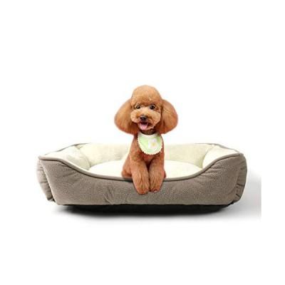 Peto-Raifu ペットベッド ペットクッション ペットマット ペットソファ スクエア型 箱型ペットベッド ぐっすり眠