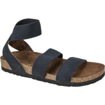 ホワイトマウンテン レディース サンダル シューズ Harlequin Ankle Strap Sandal Black Elastic/Fabric