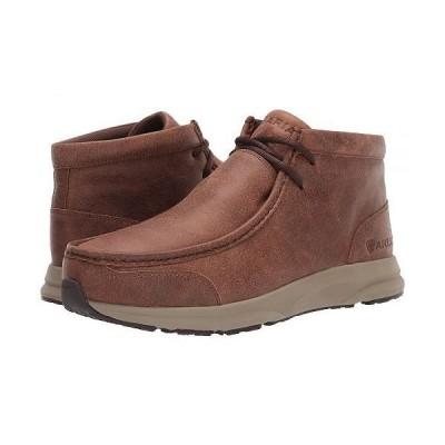 Ariat アリアト メンズ 男性用 シューズ 靴 ブーツ チャッカブーツ Spitfire - Cowboy Brown