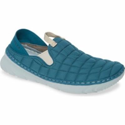 メレル MERRELL レディース スニーカー シューズ・靴 Hut Quilted Moc Sneaker Dragonfly Fabric
