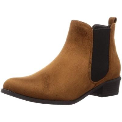 [リバティー ドール] サイドゴア ブーツ 5448 レディース ブラウンスエード L(24 cm)