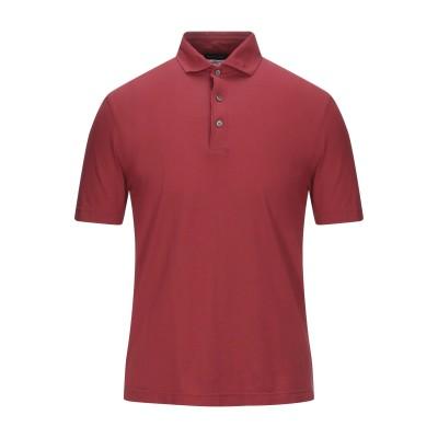 ラルディーニ LARDINI ポロシャツ レンガ 48 コットン 100% ポロシャツ