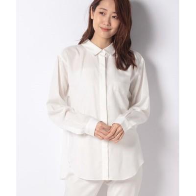 【オフプライス イーシー】 BCシャーリングシャツ レディース ホワイト 0 offprice.ec