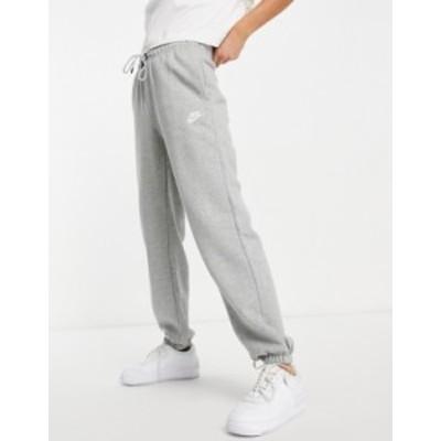 ナイキ レディース カジュアルパンツ ボトムス Nike essentials loose fit sweatpant in gray Grey