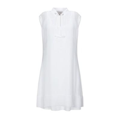 ELISA CAVALETTI by DANIELA DALLAVALLE ミニワンピース&ドレス ホワイト XXL レーヨン 100% / ポリウ