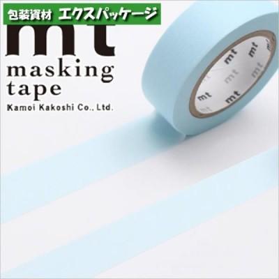 マスキングテープ カモ井 パステルパウダーブルー 1個入 #001603841 バラ販売 取り寄せ品 シモジマ