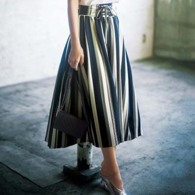 GeeRA ひんやり涼しいフィッシュテールロングスカート