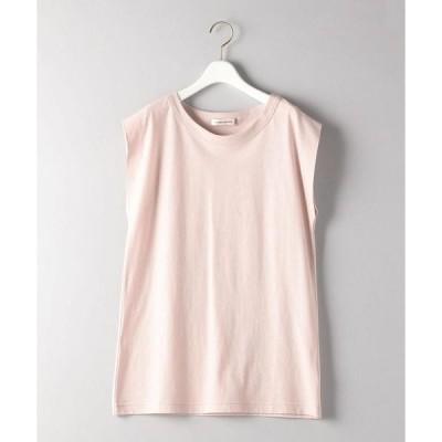 tシャツ Tシャツ <AEWEN MATOPH(イウエン マトフ)>コットン ノースリーブ Tシャツ†