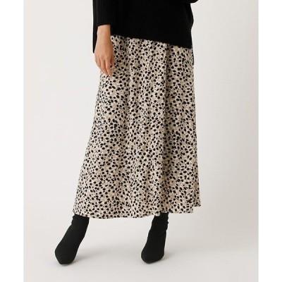 スカート LEOPARD NARROW SKIRT/レオパードナロースカート