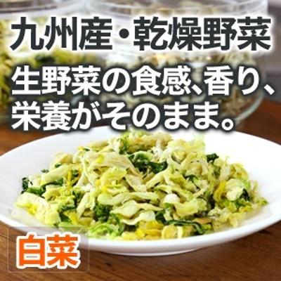 乾燥野菜 白菜 安心 安全 国産野菜【メール便対応】