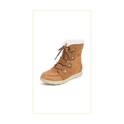 [ソレル] ウインター ショート ブーツ 防水 防寒 スノーブーツ シューズ レディース NL3039 CAMEL 24.5 cm [並行輸入品