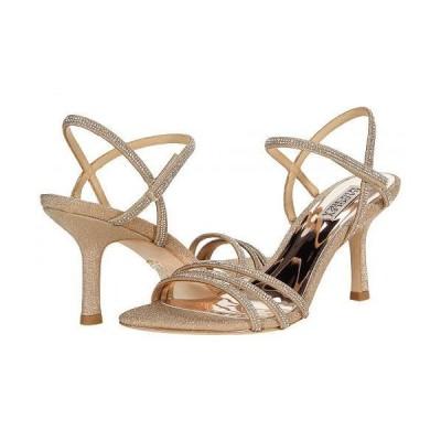 Badgley Mischka バッジリーミシュカ レディース 女性用 シューズ 靴 ヒール Dessa - Platino