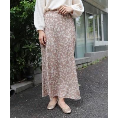 スカート マーガレットフラワースカート