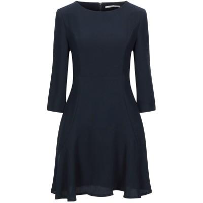 ガウディ GAUDÌ ミニワンピース&ドレス ダークブルー 42 ポリエステル 100% ミニワンピース&ドレス