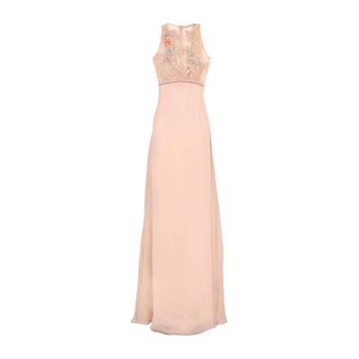 .AMEN. ロングワンピース&ドレス サンド 42 ナイロン 100% / レーヨン / ガラス ロングワンピース&ドレス