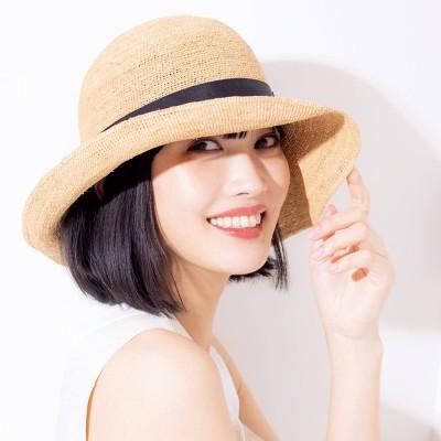 ラフィア帽