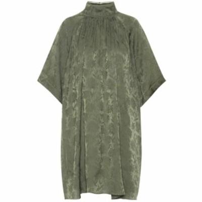 クロエ Chloe レディース ワンピース ワンピース・ドレス Jacquard minidress Wide Forest
