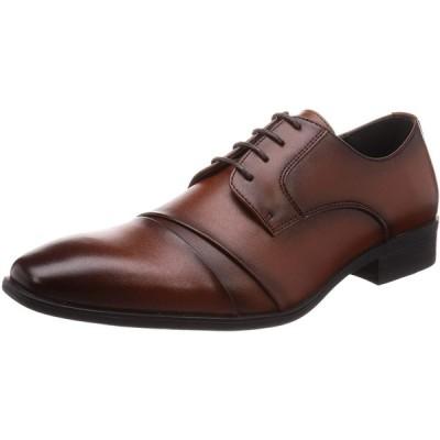 マリオ・ロゼッティ ビジネスシューズ 紳士靴 軽量 防滑 抗菌仕様 メンズ 3811 ブラウン 27 cm 3E