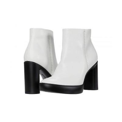 ECCO エコー レディース 女性用 シューズ 靴 ブーツ アンクル ショートブーツ Shape Sculpted Motion 75 Ankle Boot - Bright White