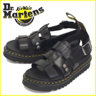 Dr.Martens (ドクターマーチン) TERRY テリー フィッシャーマン レザーサンダル Black